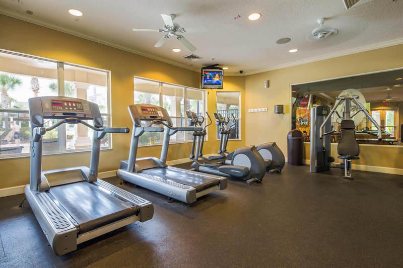Fitness center at Windsor Hills