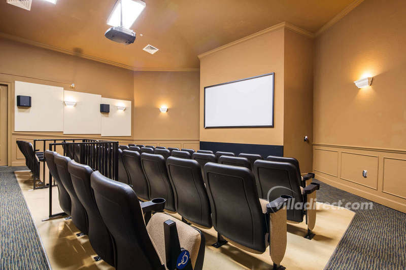 Windsor Hills cinema room