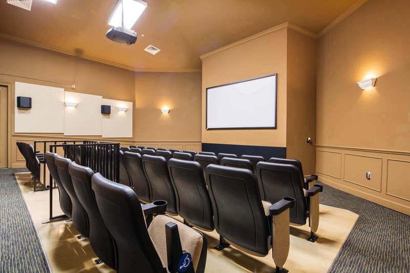 Windsor Hills cinema room