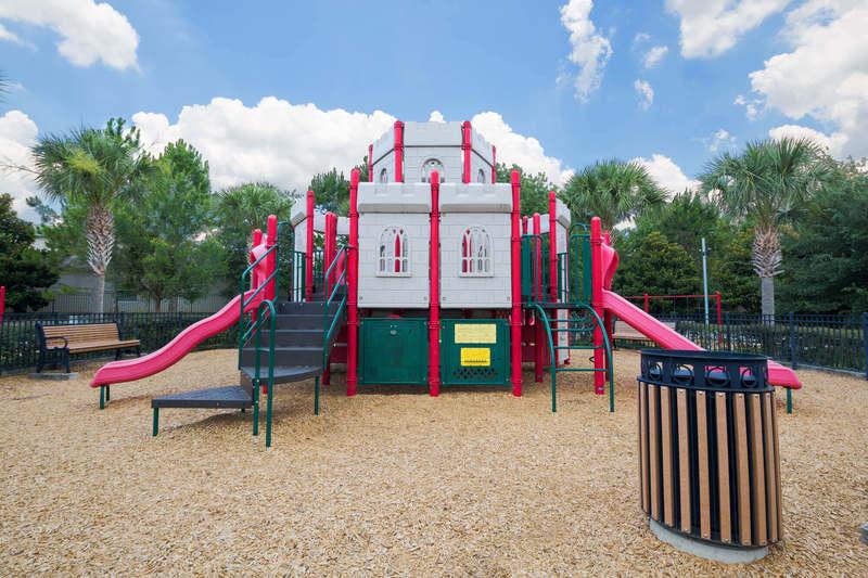 Castle playground at Windsor Hills resort