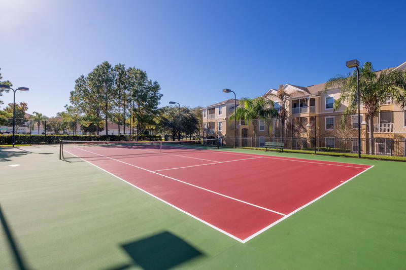 Tennis courts at Windsor Palms
