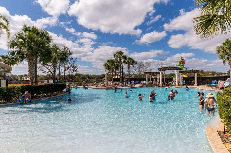 Lagoon pool