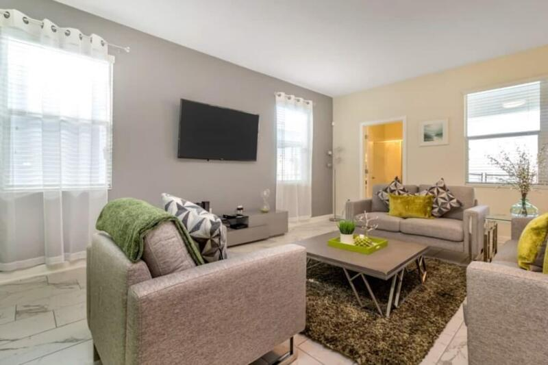 Relax together in the family room