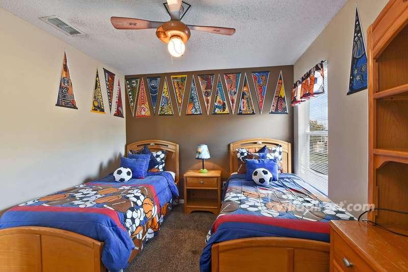 Children's twin room