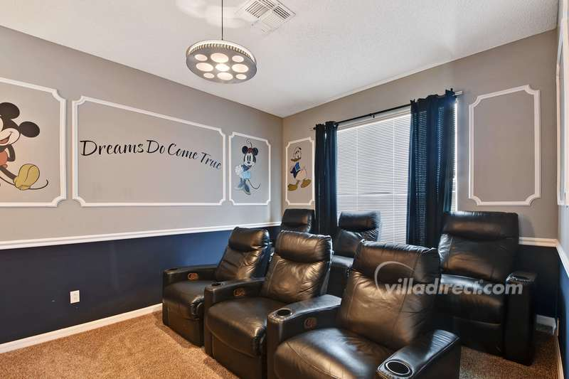 Family theater room