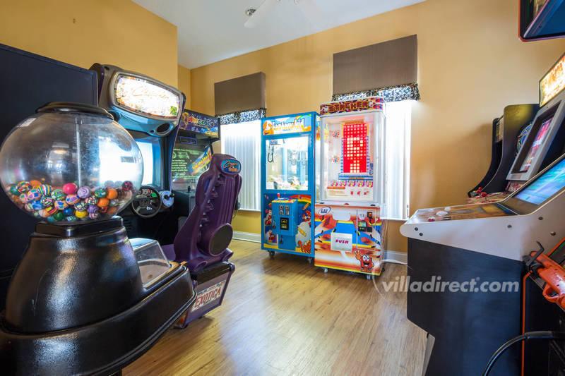 Resort games room