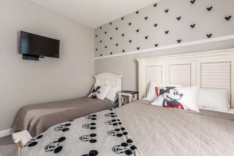 Mickey's bedroom