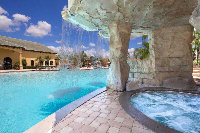 Clubhouse grotto