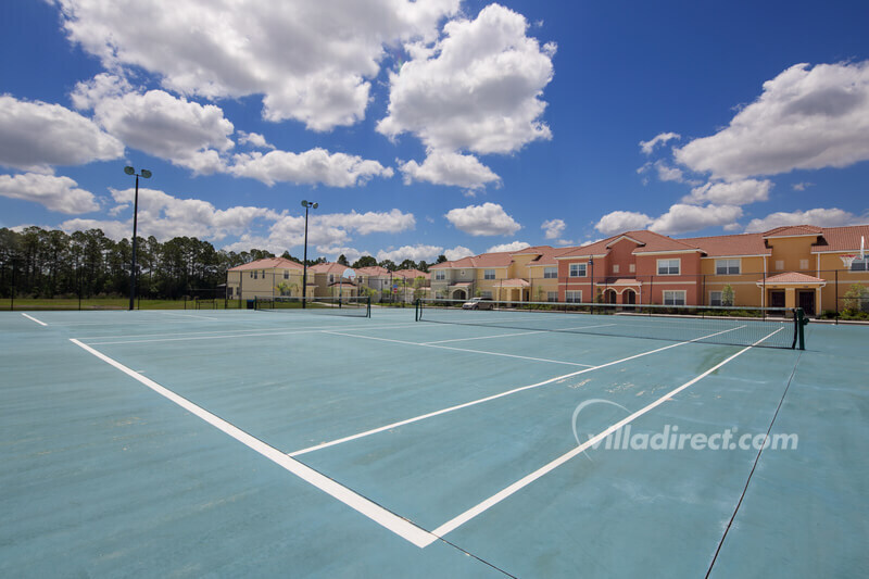 Tennis courts at the Clubhouse