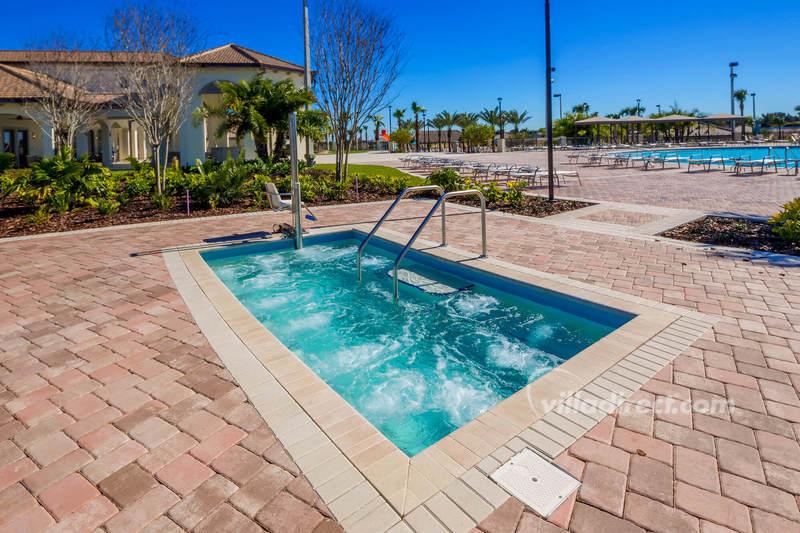 Poolside Spa