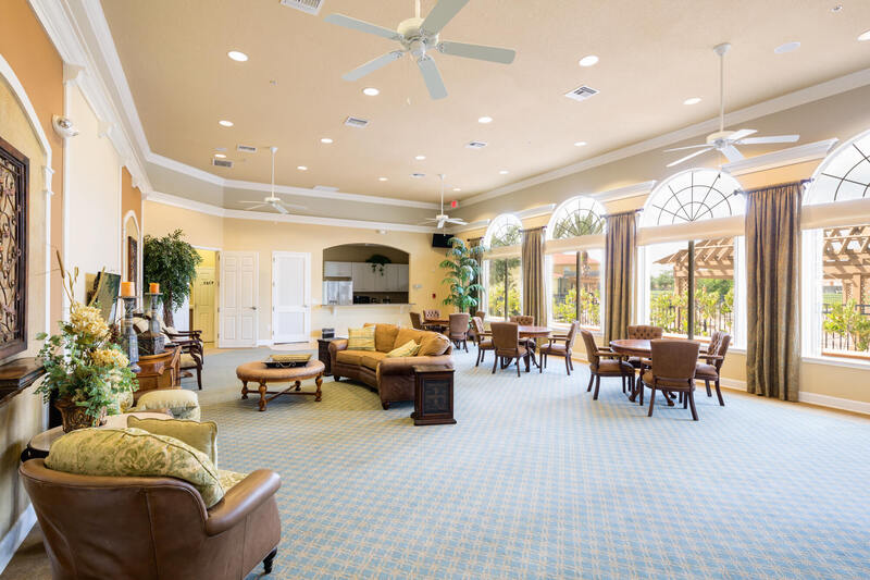 Resort Clubhouse Lounge